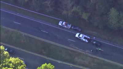 Authorities closed all northbound lanes of U.S. Highway 15-501 at Kings Mill Road in Chapel Hill for about an hour Friday morning due to a wreck involving several vehicles.