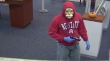 IMAGES: CAUGHT ON VIDEO: Security images show Chapel Hill bank robbery in progress