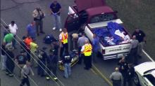 IMAGES: Odd behavior began hours before two-county chase, crash