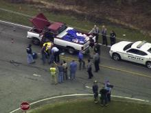 Sky 5: Chase suspect arrested in Bailey