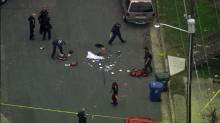 IMAGES: Man shot, killed on Durham's Morning Glory Ave.