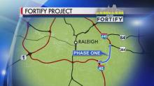 IMAGE: Wake Tech prepares for highway project