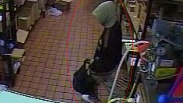 Fayetteville police are asking for the public's help to identify the man in this photo in connection with the Nov. 1, 2013, armed robbery of McDonald's at 542 Grove St.