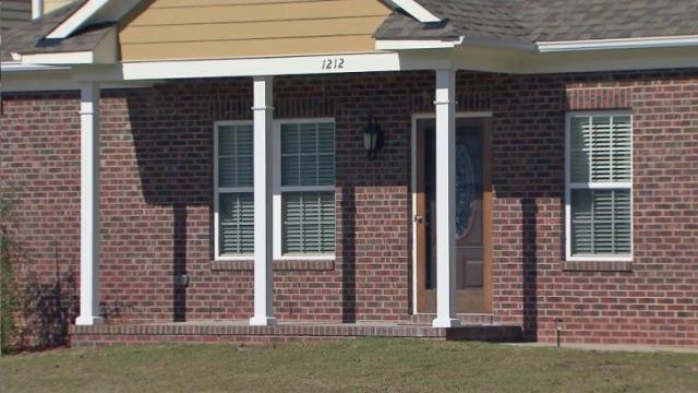 A Fayetteville man was shot and killed after forcing his way into a neighbor's home seeking refuge after a domestic disturbance late Saturday, police said.