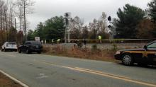 Authorities were investigating the death of a person who was hit by an Amtrak train in Mebane on Nov. 17. 2013.