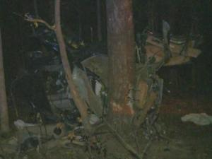 Three men were killed when their vehicle ran off the road and struck a tree in Willow Spring just before 10 p.m. on Saturday, Nov. 23, 2013.