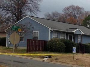 Durham police found two teenage boys shot outside this house on Grace Lane shortly before 1:30 p.m. on Dec. 3, 2013.