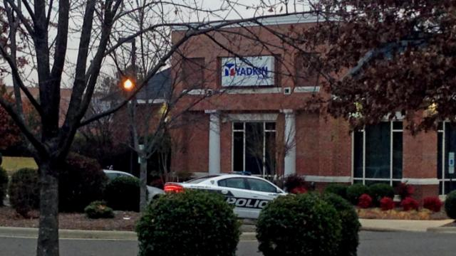 Durham police say a man tried to rob Yadkin Bank, at 115 E. Carver St., on Dec. 4, 2013.