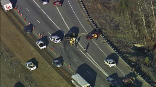 Authorities closed westbound lanes of N.C. Highway 70 Bypass at N.C. 42 in Clayton early Friday due to a fatal wreck.