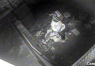 Police: Goldsboro man hid beneath box, stole store's surveillance camera