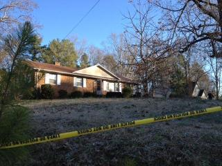 A man and woman were shot to death at this home in the 2200 block of Cheek Road in Durham.