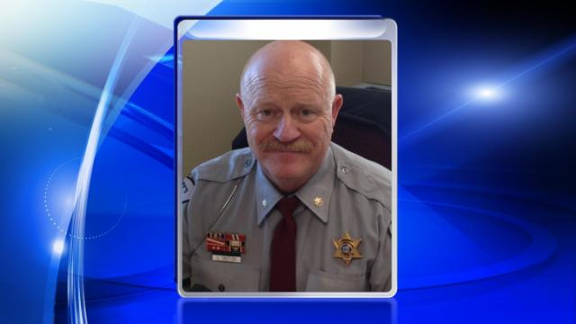 Maj. Larry Trotter, chief jailer for the Cumberland County Detention Center