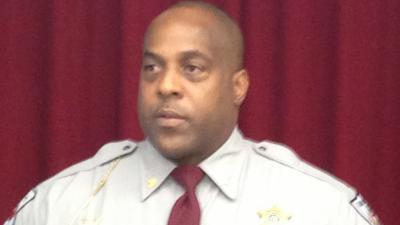 Maj. Ennis Wright, Cumberland County Sheriff's Office