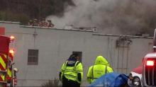 IMAGES: Fire claims former Magnolia Grill