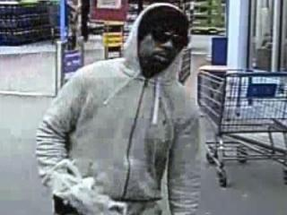 Wake Forest police are searching for this man, who robbed a Walmart Money Center on Friday evening, Jan. 3, 2014.