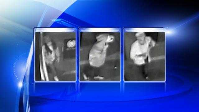 Raleigh police are looking for the men in these security photos in connection with a shooting on New Bern Avenue in the early hours of Dec. 26.