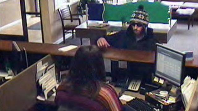 A man robbed the Vantage South Bank in Knightdale on Jan. 10, 2014.