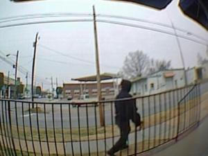 Spring Hope police released this security image from the ATM camera at a PNC Bank branch that was robbed Jan. 10, 2014.
