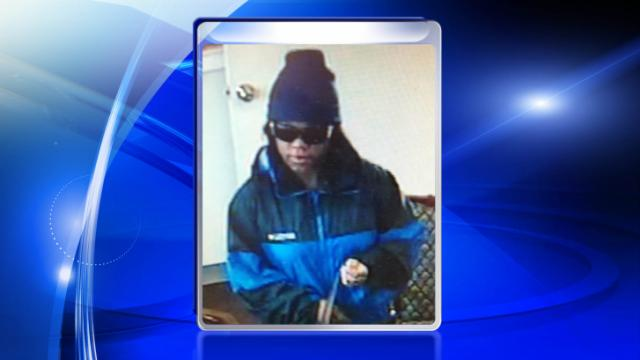 A woman robbed a First Citizens Bank branch on Broadfoot Avenue in Fayetteville on Jan. 13, 2014.