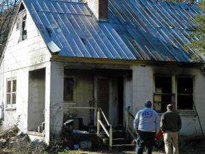 One person died Saturday in a house fire outside of Vass in Moore County, authorities said.