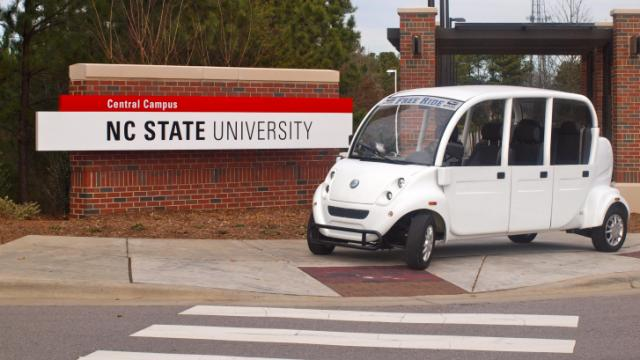 A new program at NC State University will offer rides around campus to students who have a mobility disability.