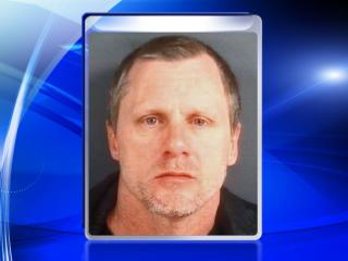 Sonny Stetson, 45, was arrested Sunday morning and charged with robbing an elderly couple in their home on Thursday.
