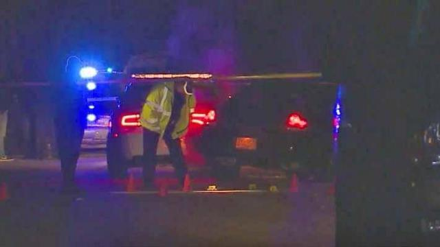 A Hope Mills police officer and 25-year-old man were taken to a local hospital early Saturday after a high-speed chase ended with a wreck and gunshots, authorities said.