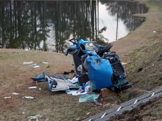 At least three people were injured early Thursday, Feb. 6, 2014, when two cars collided on N.C. Highway 690 in Vass, authorities said.