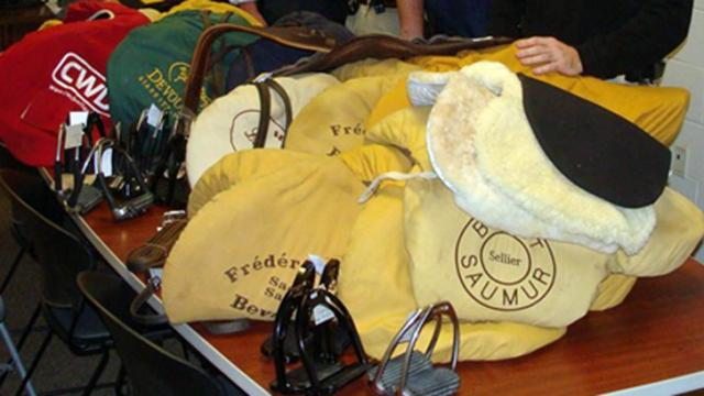 Orange County deputies said on Feb. 7, 2014, that they have recovered saddles and tack equipment stolen from a horse farm in Ontario.