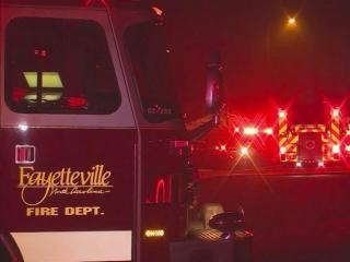 Fire damaged four unoccupied units at Fayetteville's Southwood Apartments.