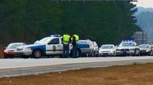IMAGES: Police close part of I-540 after man jumps from overpass