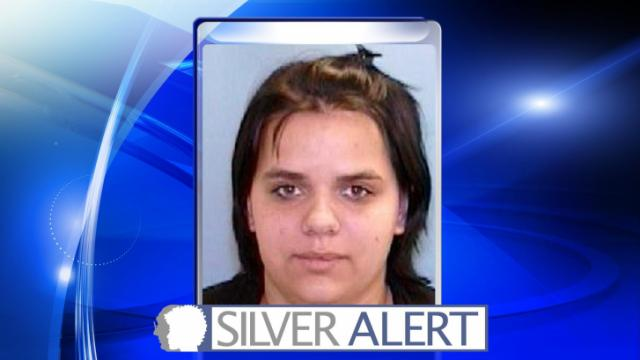 A Silver Alert has been issued by Cary police for a 20-year-old woman.