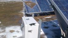 IMAGES: Falling ice damages CBC solar array