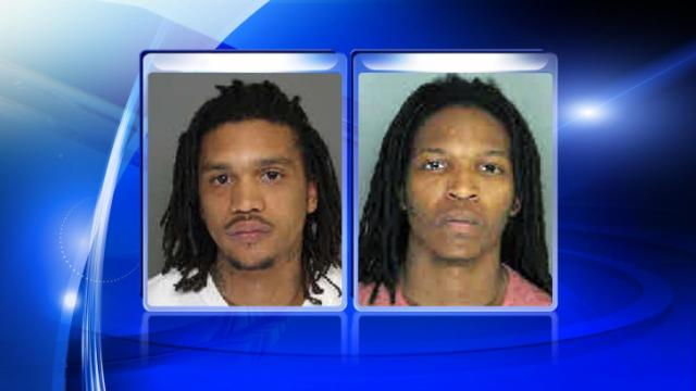 Patrice Hoza Taylor, Jr., 22, (left) and Zaquan Tymil Magee, 20, (right) face multiple counts after allegedly shooting into a vehicle in Fayetteville on Wednesday.