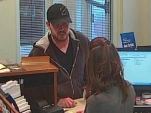 A Pinehurst bank was robbed Monday afternoon.