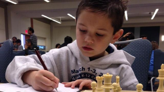 The Chess Achieves state championship in Raleigh is expected to draw hundreds of players.
