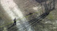 Police tape surrounded 159 Deer Tracks Drive in Johnston County Friday, March 14, 2014.