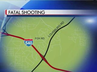 A man was shot near Fox and Louisburg roads in Raleigh.
