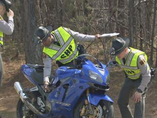 Seven motorcycles were involved in a wreck late Saturday morning on U.S. Highway 64 East near Lizard Lick Road in Wendell, authorities said.