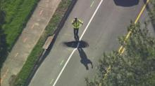 IMAGE: Sinkhole diverts traffic in east Raleigh