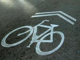 'Sharrows' indicate that drivers should share the road with bicycles.