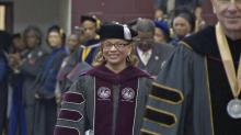 IMAGES: NCCU installs first female chancellor