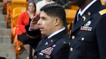 IMAGE: Campbell graduate wounded in Fort Hood shooting