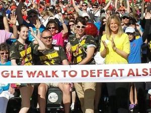 WRAL's Debra Morgan emceed the Triangle Walk to Defeat ALS on Saturday, April 5, 2014. The event raised more than $280,000 to support ALS patients and research.