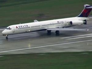 Delta 2339, bound for Atlanta, landed at RDU