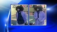 IMAGES: Police: Big wig robber strikes again at Durham Subway