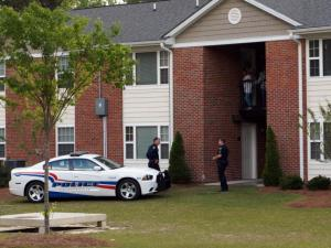 An April 25, 2014, shooting in an apartment at the Colony Place Apartments complex in Fayetteville seriously wounded a 7-year-old boy.