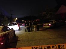 A 9-year-old boy died late Monday after a shooting inside a home at the intersection of Macon and Washington streets, Durham police said. (Hal Marrow/WRAL contributor)