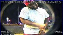 IMAGES: Cumberland man accused of stealing woman's identity caught smiling on ATM cameras