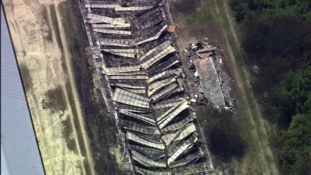 A May 8, 2014, fire at a Harnett County chicken house killed about 19,000 birds, authorities said.